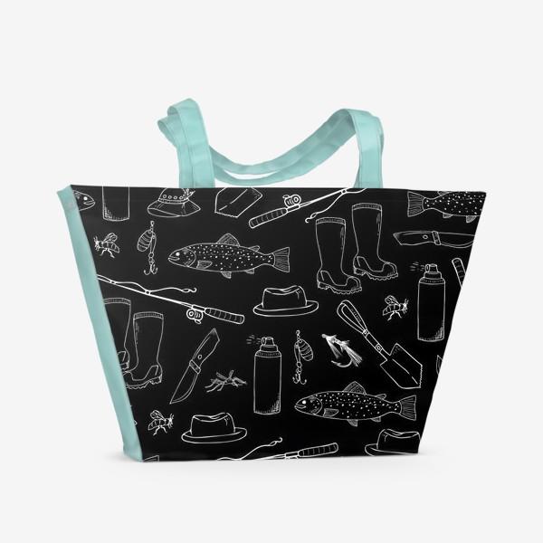 Пляжная сумка «рыбалка»