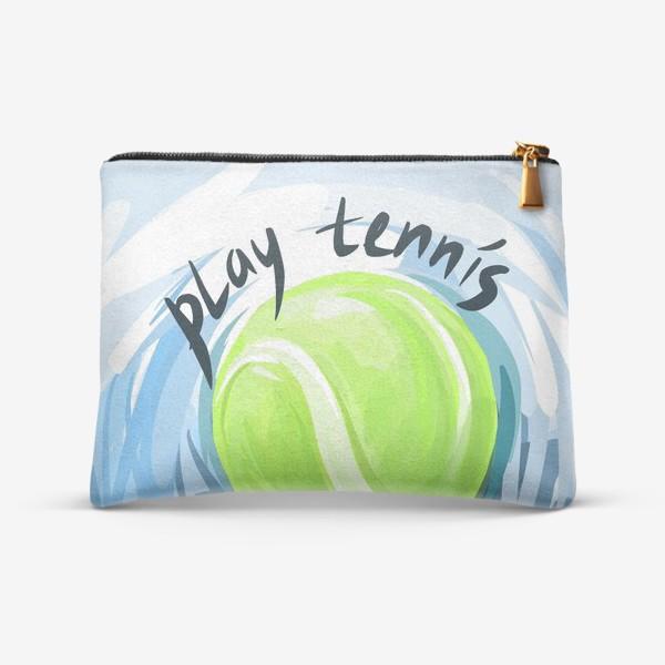 Косметичка «Играй в теннис»