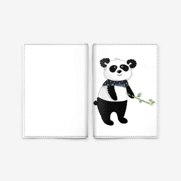 Обложка для паспорта «Панда»