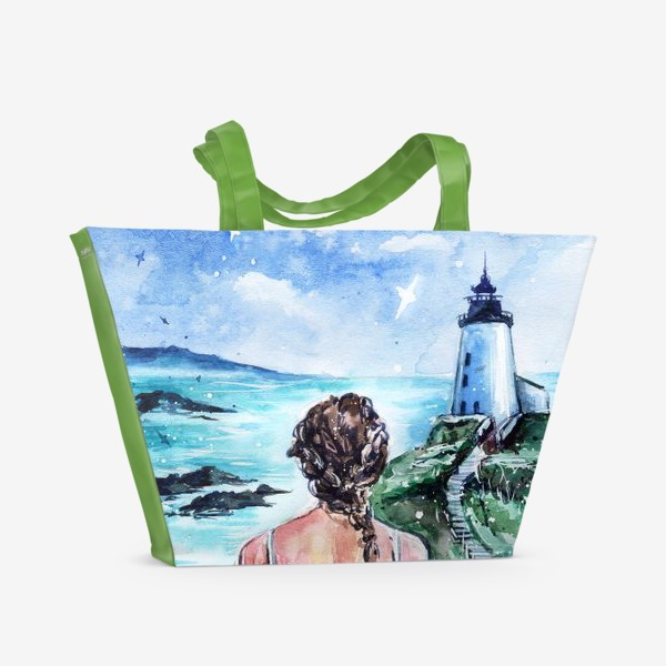 Пляжная сумка «Окрыленная душой»