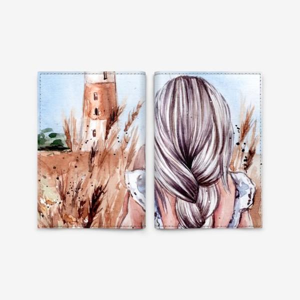 Обложка для паспорта «Пшеничное лето»