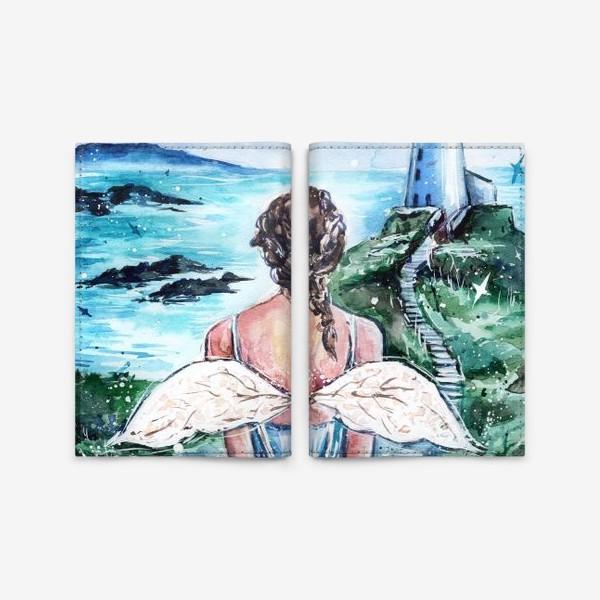 Обложка для паспорта «Окрыленная душой»