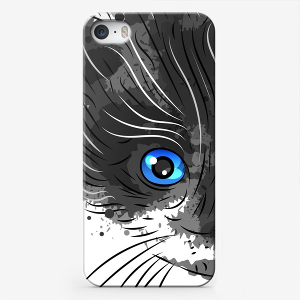 Чехол iPhone «Котик красавчик»