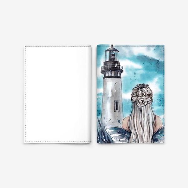 Обложка для паспорта «бирюзовая фантазия»