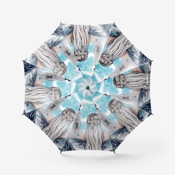 Зонт «бирюзовая фантазия»