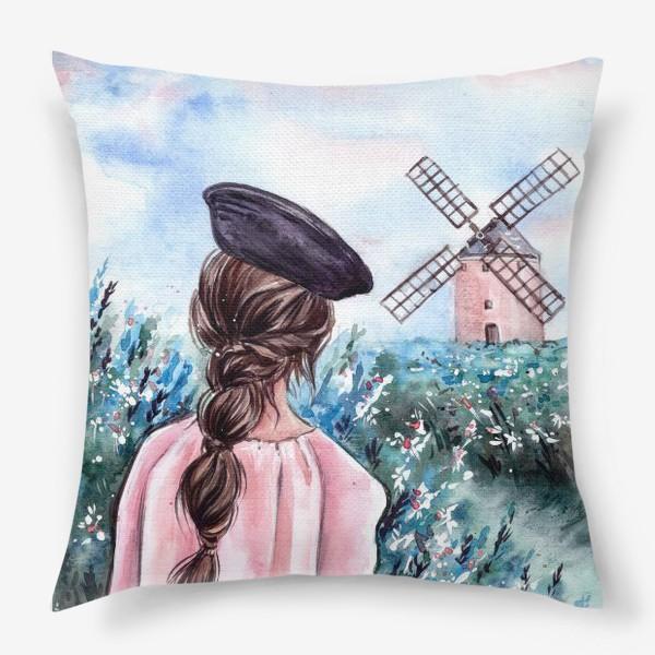 Подушка «васильковые сны»