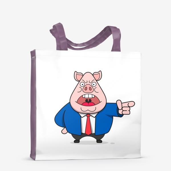Сумка-шоппер «Свинья»