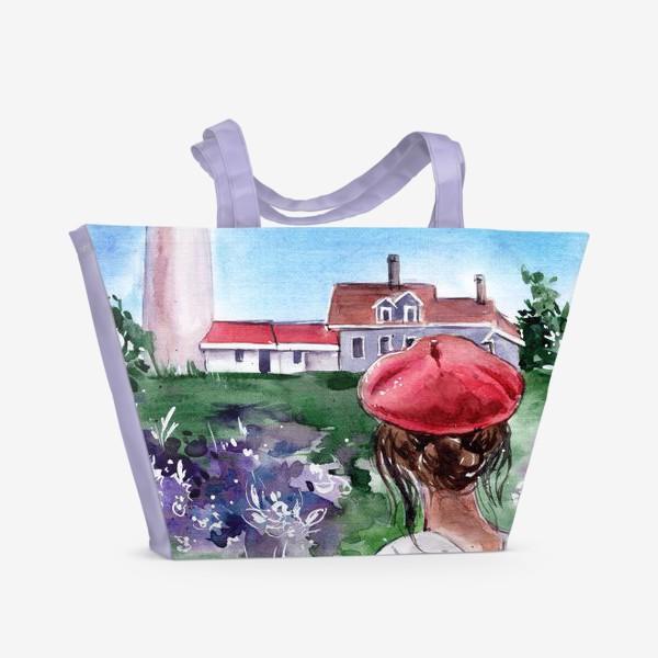 Пляжная сумка «из парижа»