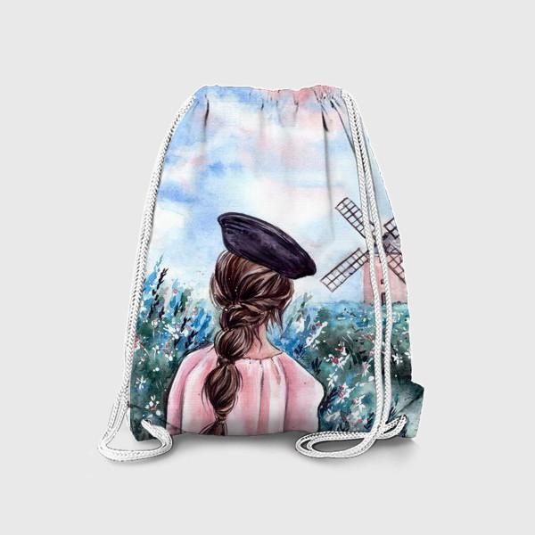 Рюкзак «васильковые сны»
