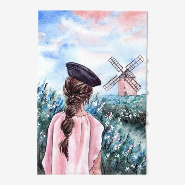 Полотенце «васильковые сны»