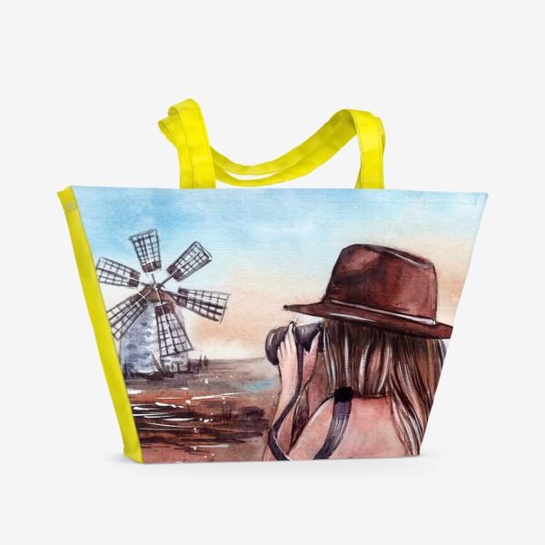 Пляжная сумка «поймай момент»