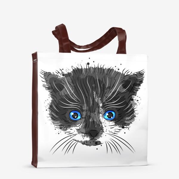 Сумка-шоппер «Котик красавчик»