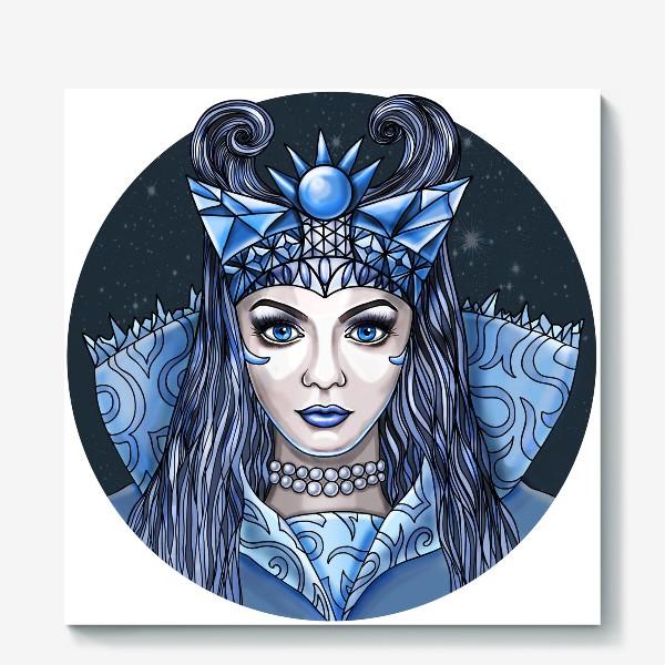 Холст «Снежная Королева»