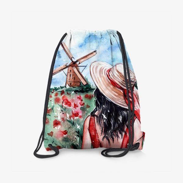 Рюкзак «леди в красном»