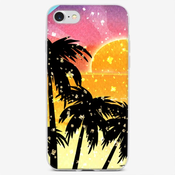 Чехол iPhone «Мой любимый цвет - солнечный свет!»