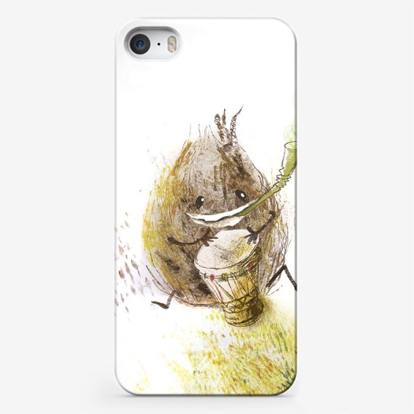 Чехол iPhone «Кокосик хиппи»