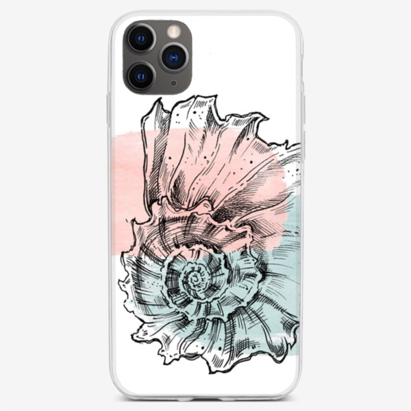 Чехол iPhone «Морская раковина»