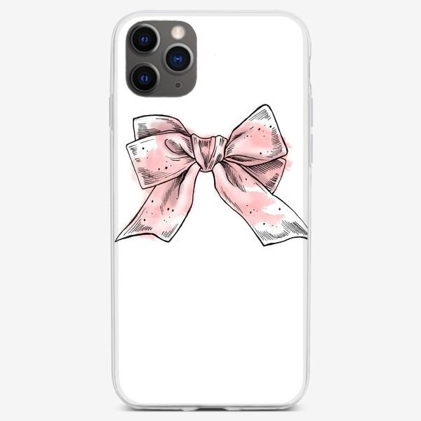 Чехол iPhone «Бантик»
