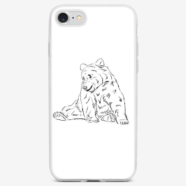 Чехол iPhone «Мишка»