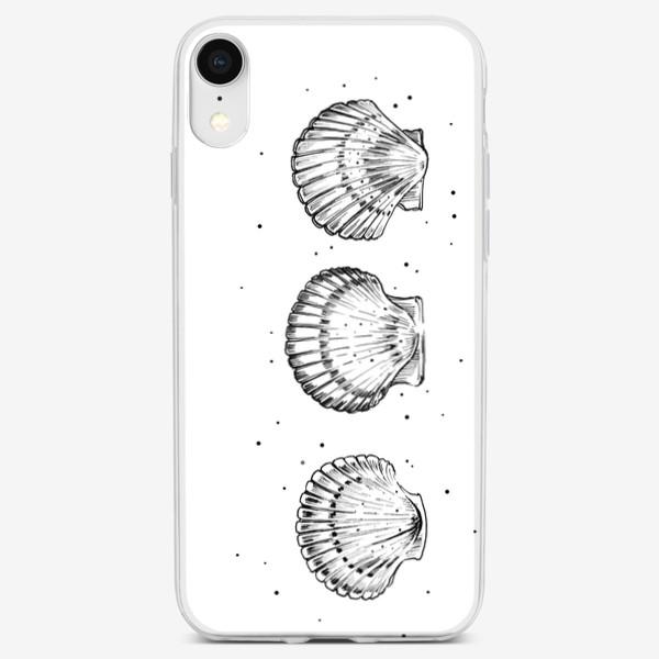 Чехол iPhone «3 ракушки»