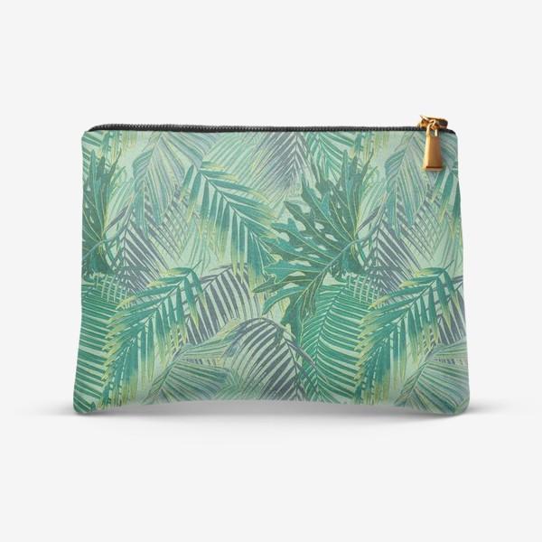 Косметичка «зеленые  тропики»