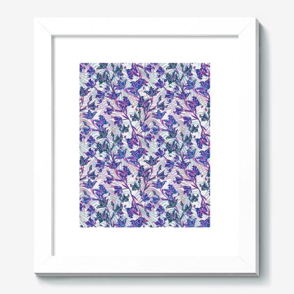 Картина «Неоновые орхидеи»