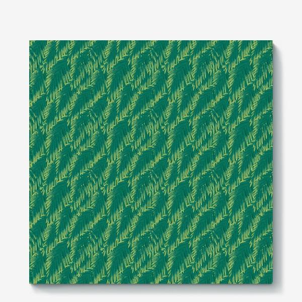 Холст «Зеленые  тропики»