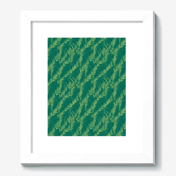 Картина «Зеленые  тропики»