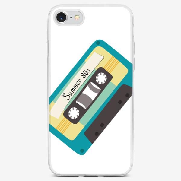 "Чехол iPhone «Ретро кассета с надписью ""Summer 80s""»"