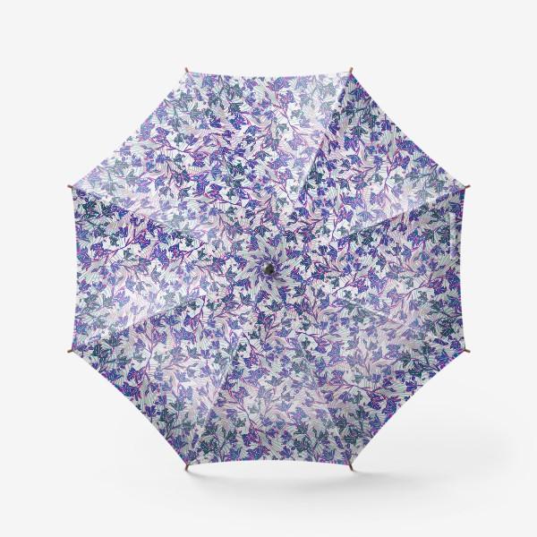 Зонт «Неоновые орхидеи»