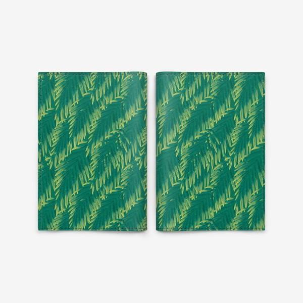 Обложка для паспорта «Зеленые  тропики»