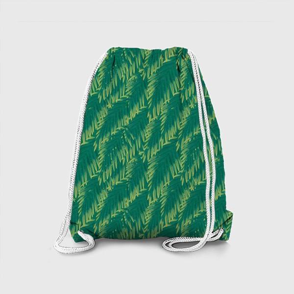 Рюкзак «Зеленые  тропики»