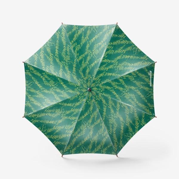 Зонт «Зеленые  тропики»