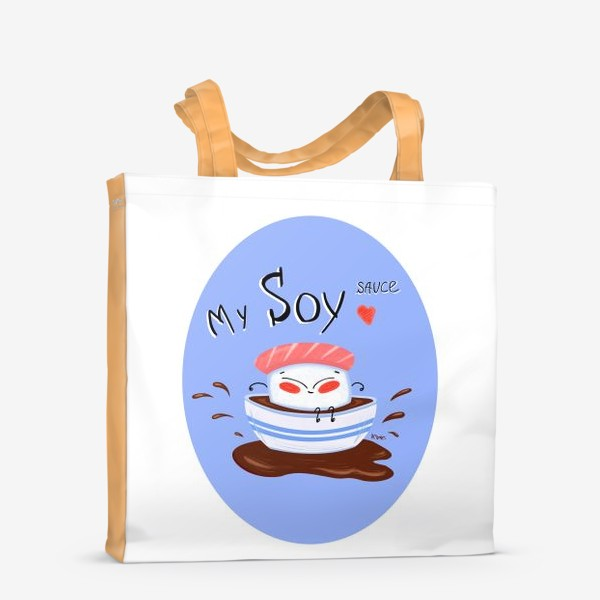 Сумка-шоппер «My soy»