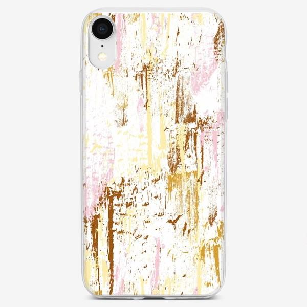 Чехол iPhone «штрихи, мазки краски»
