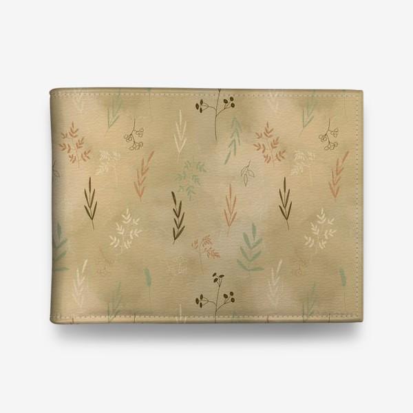 Кошелек «Растения. Веточки.»