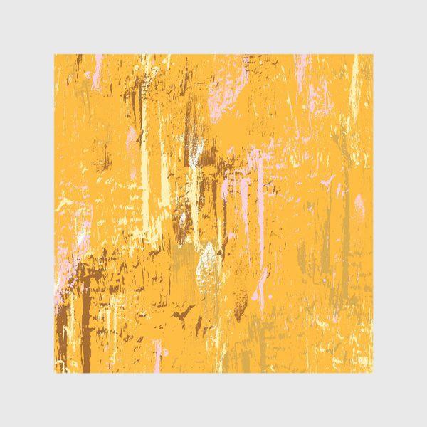 Скатерть «мазки краски, оранжевый»