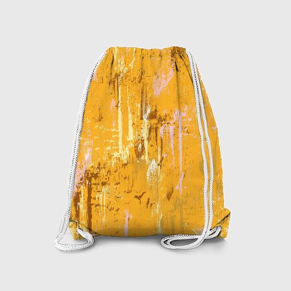 Рюкзак «мазки краски, оранжевый»