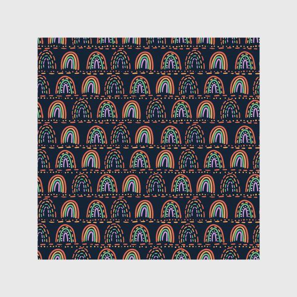 Шторы «Орнамент из абстрактных радуг »