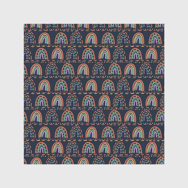 Скатерть «Орнамент из абстрактных радуг »