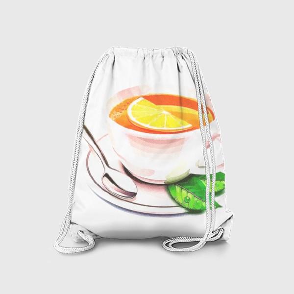 Рюкзак «Английский завтрак (Без фона) Утренний фрэш. Заряд бодрости. Доброе утро. »