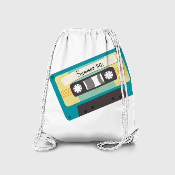 "Рюкзак «Ретро кассета с надписью ""Summer 80s""»"