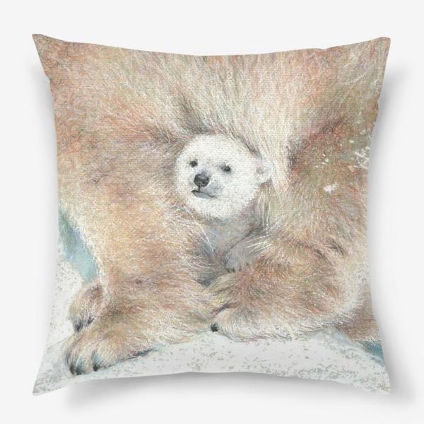 Подушка «Умка белый медвежонок»