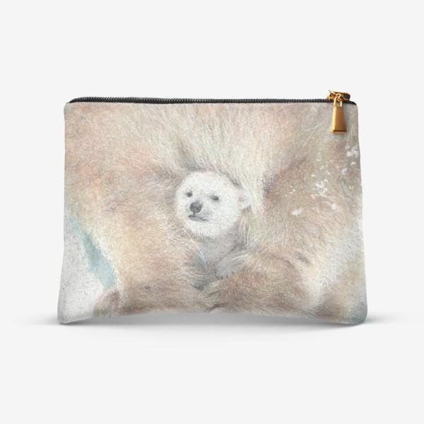 Косметичка «Умка белый медвежонок»