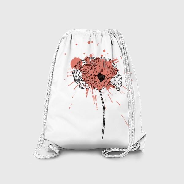 Рюкзак «Мак. Брызги.»
