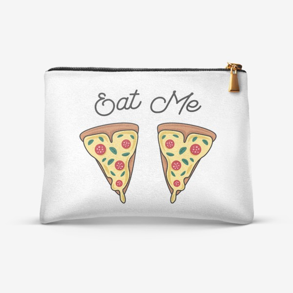 Косметичка «Пицца. Eat me. Pizza»