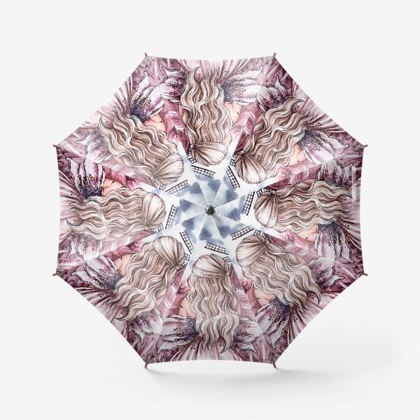 Зонт «розовый мир»