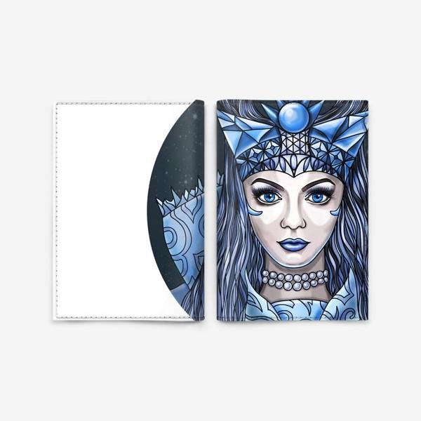Обложка для паспорта «Снежная Королева»