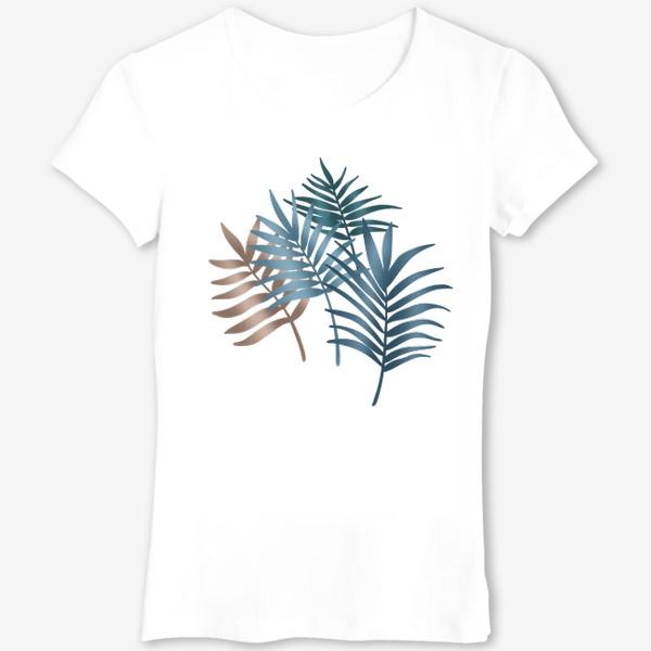 Футболка «Тропические листья»