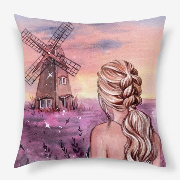Подушка «на закате...»